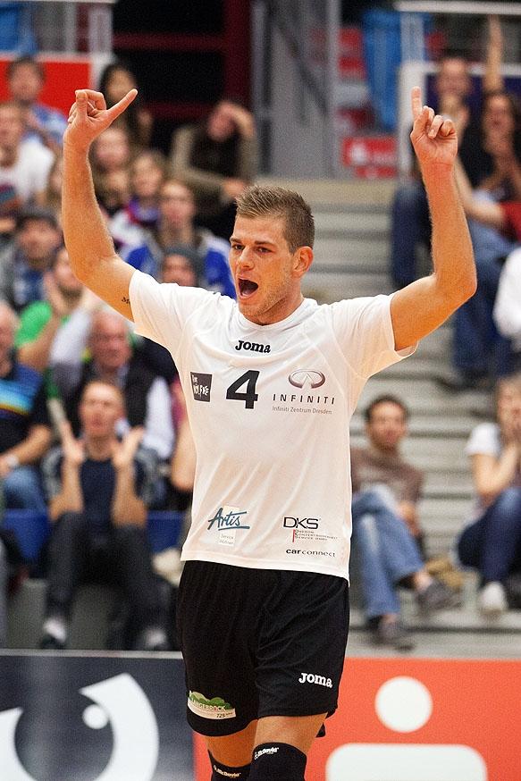 Volleyball Bundesliga: VC Dresden gegen den Moerser SC