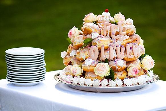 Hochzeitsfoto - Hochzeitstorte