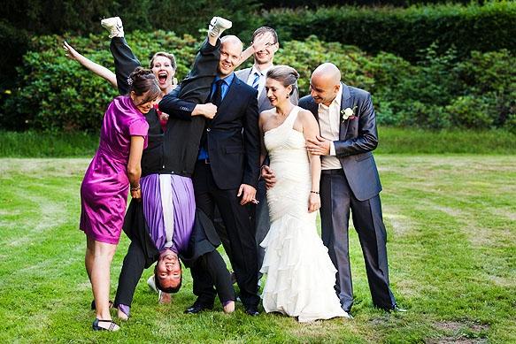 Hochzeitsfoto - Gruppenbilder