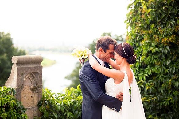 Hochzeitsfotografie Dresden: Katja & Jörg heiraten auf Schloß Eckberg