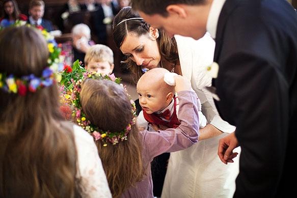 Hochzeitsfotograf - Hochzeitsreportage in der Dorfkirche Pesterwitz