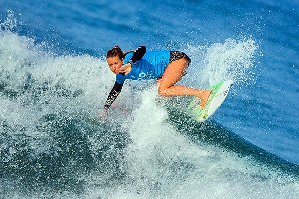 Sportfotografie - Surfen beim WSL ProAnglet Surfcontest