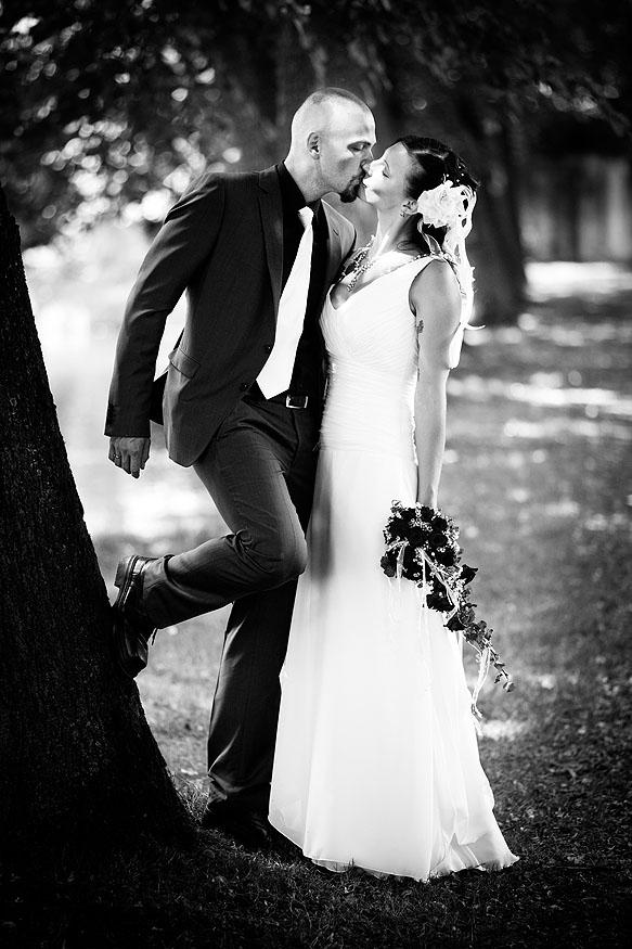 Hochzeitsfotografie Barockschloß Oberlichtenau: Paarfotos