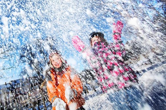 Pressefotograf - Wetterfeature vom Winterwetter