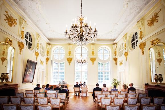 Hochzeitsfotograf - Hochzeit im Barockschloß Oberlichtenau