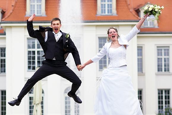 Hochzeitsfotograf - Hochzeitsportraitauf Schloß Wackerbarth
