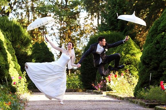 Hochzeitsfotograf - Hochzeitsportrait auf Gut Saathain
