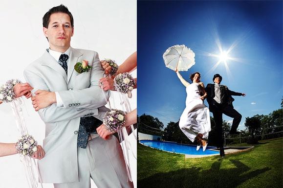 Hochzeitsfotograf - Hochzeitsportrait auf Gut Saathain und in der Vila via Lapis