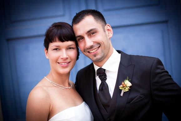 Hochzeitsfotograf - Hochzeitsportrait in Pirna