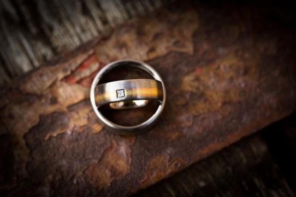 Hochzeitsfotograf - Ringe im Detail