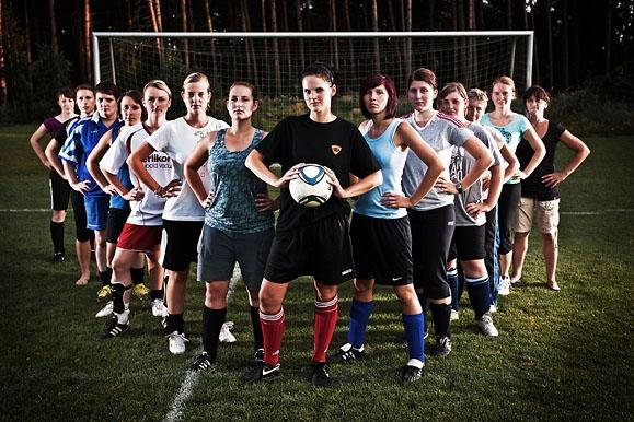 Pressefotograf - Frauenfußball