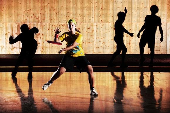 Pressefotograf - Frisbee