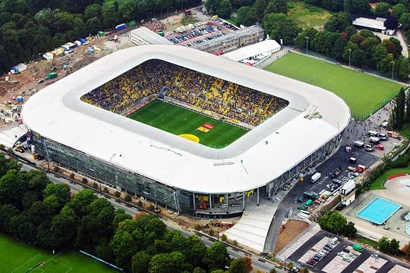 Fotojournalist - Luftaugnahmen Rudolf-Harbig-Stadion
