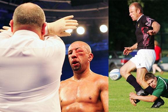 Sportfotograf - Boxen Europameisterschaft & Rugby