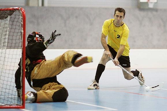 Sportfotograf - Torszene Unihockey