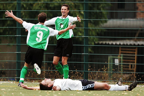 Sportfotograf - Torjubel beim Fußball